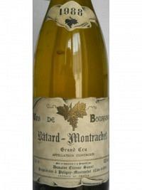 Bâtard-Montrachet Grand Cru 1988, AOC