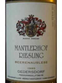 Riesling Beerenauslese 2009