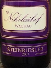 Nikolaihof Riesling Steinriesler 2007, Qual.
