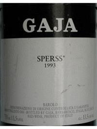 Sperss 1993 DOCG