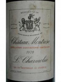 Château Montrose 1970 2ième Cru Classé, St-Estèphe AC, MC