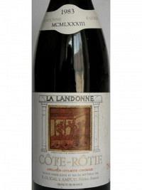 Côte Rotie ''La Landonne'' 1983 AC, MC,